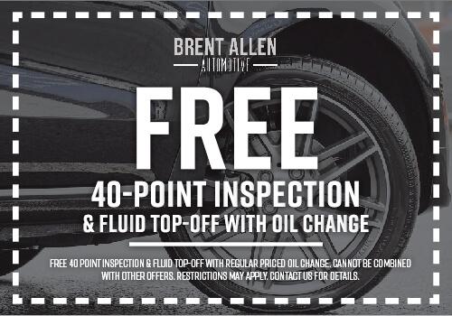 40 point inspection brent allen automotive