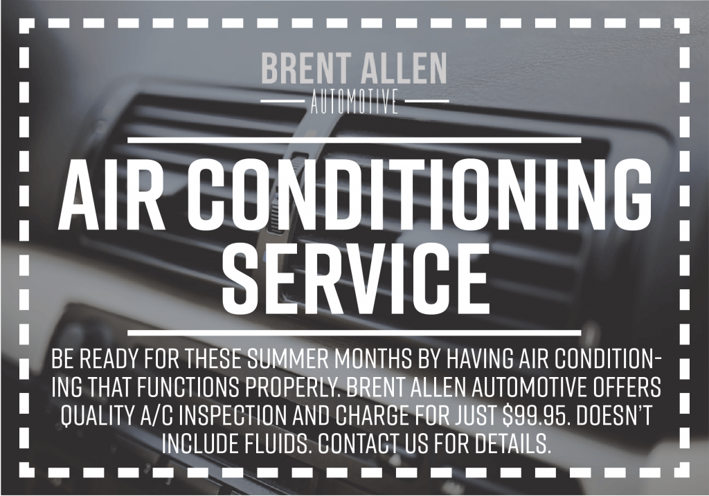 AC Inspection and charge brent allen automotive