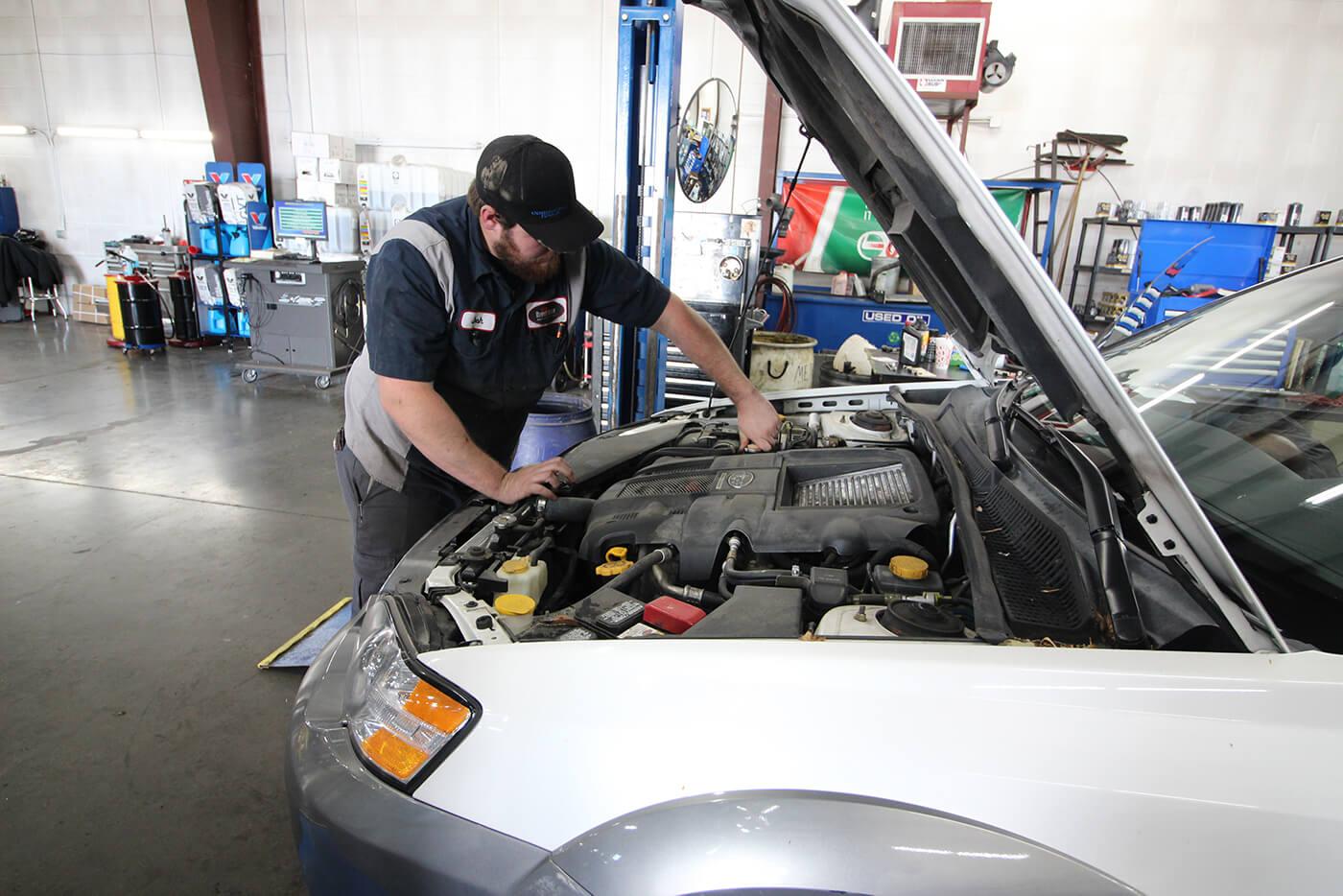 auto mechanic providing trip check service in North Logan, Utah