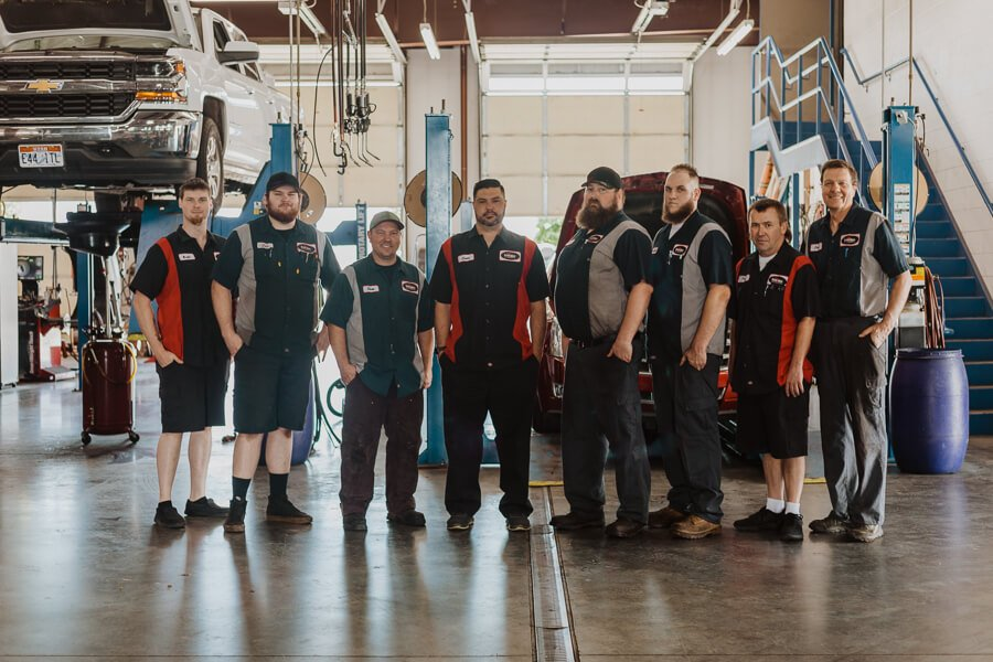 The Team at BA Auto