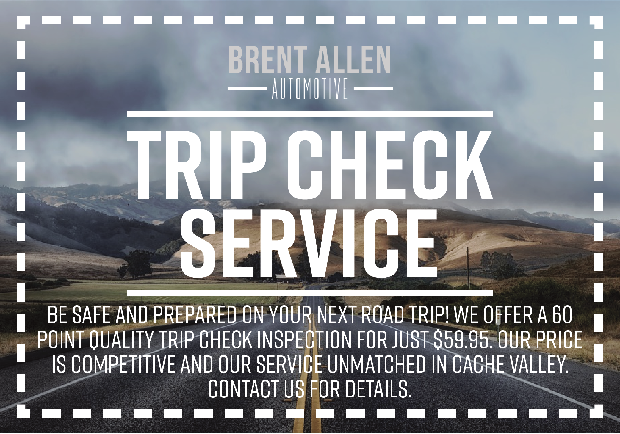 Trip Check Service Coupon